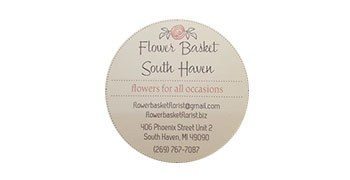 Flower Basket South Haven sticker